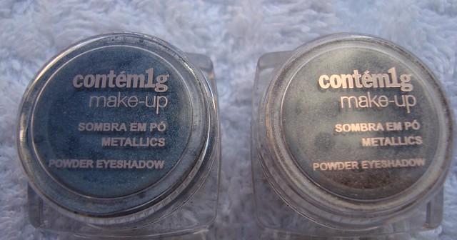 Sombras coleção Metallics da Contém 1g