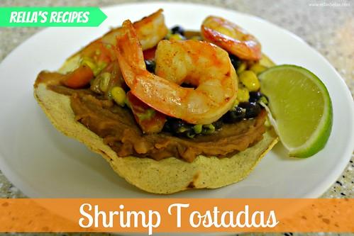 shrimp tostada 1