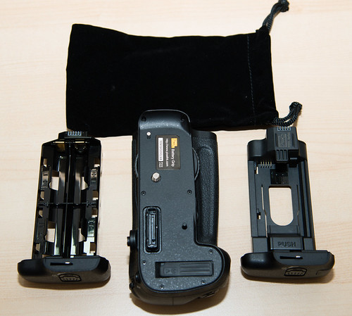 Pixel Vertax D12 battery grip for Nikon D800