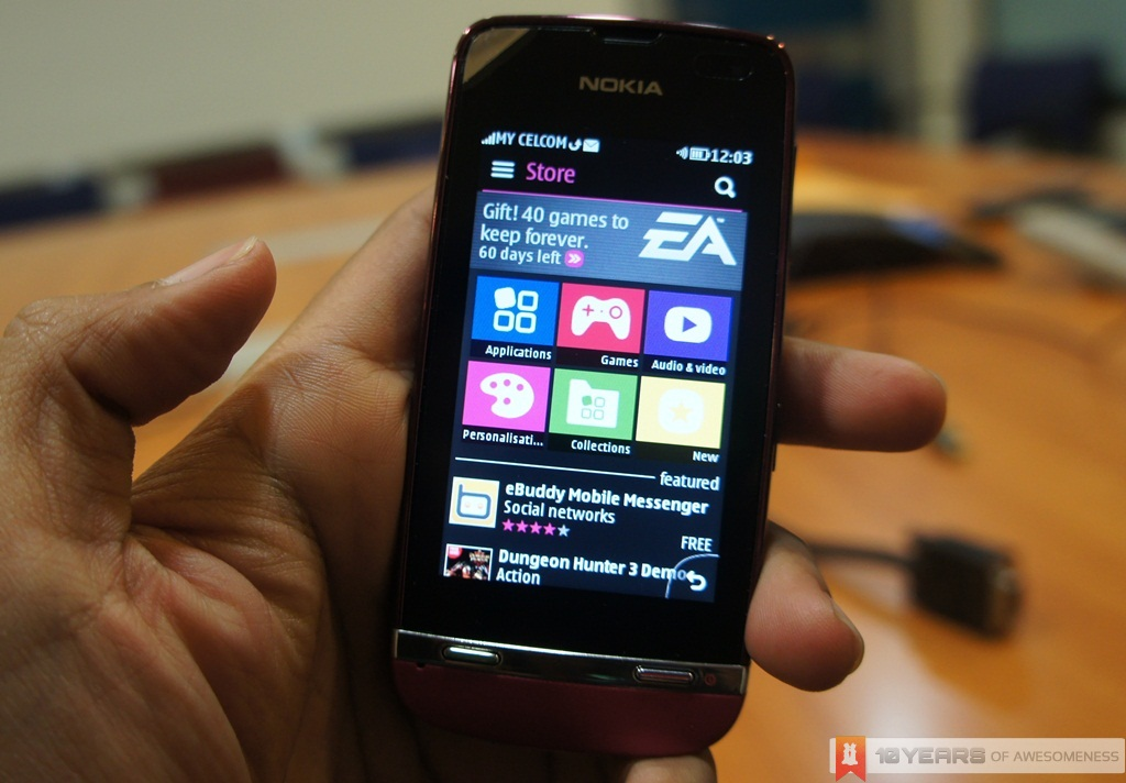 Preview] Nokia Asha 311 | Multiplay LYN | Flickr