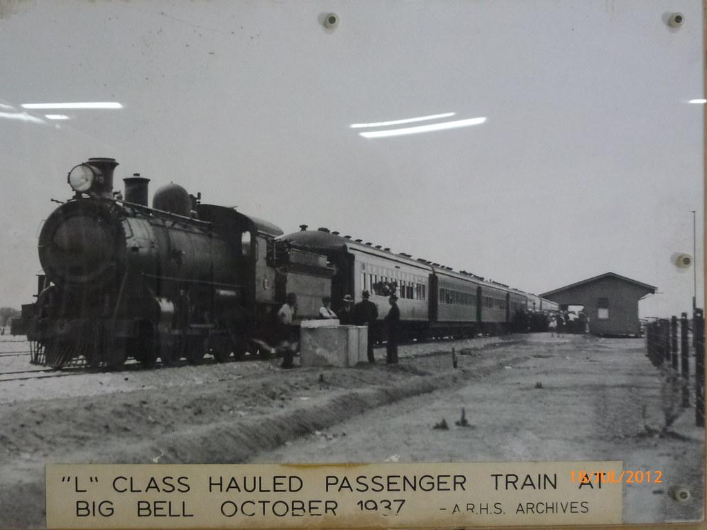 Big Bell Railway Station 1937 by InTheBush*
