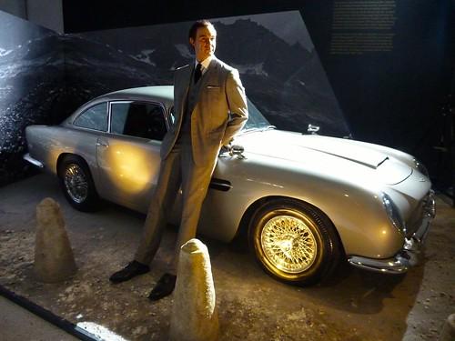 "Aston Martin DB5 from ""Goldfinger"""