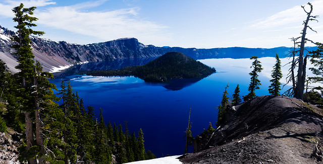Huge Panorama: Crater Lake