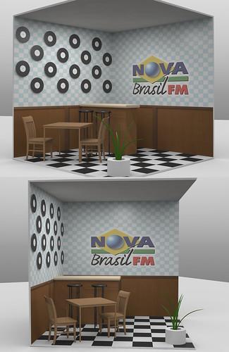 """Estande """"Boteco da Nova"""" em 3D by adrianocarvalho"""