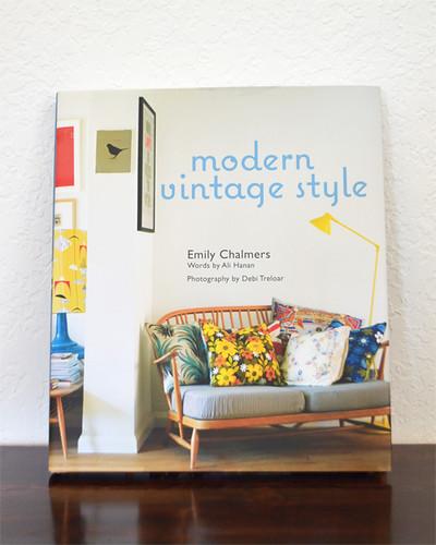 Book: modern vintage style