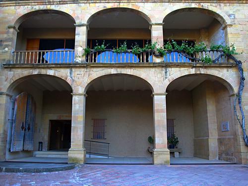 Facade, Hotel Hostatgeria del Monestir, El Monestir de les Avellanes