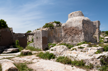 Base de la columna de San Simeón