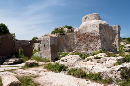 Base de la columna de Sant Simeó
