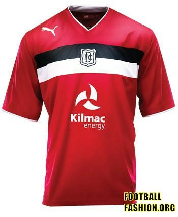 Dundee FC PUMA 2012/13 Third Soccer Jersey / Football Kit