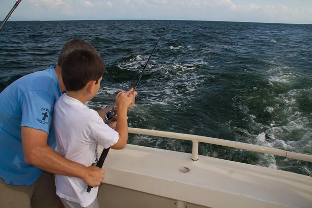 Happy Hooker Fishing Trip