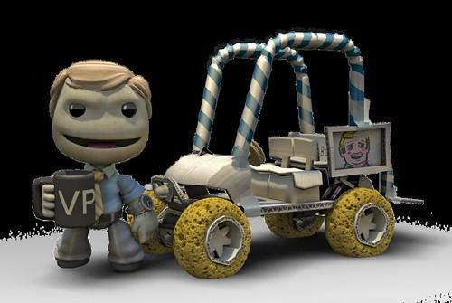 LittleBigPlanet Karting kevin butler