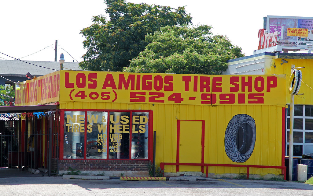 Amigos Tire Shop >> Used Tires Oklahoma City Used Military Tires