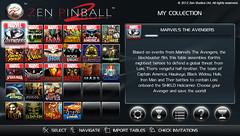 Zen Pinball 2 - Dashboard