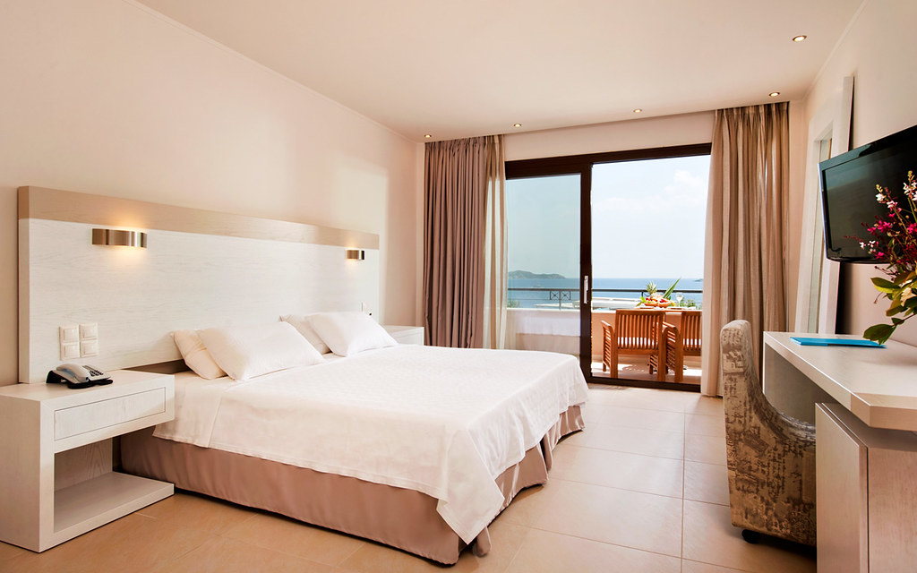 The Executive Junior Suite of the Kassandra Bay Hotel