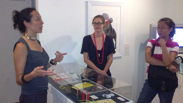 New York Arts Practicum visit with Marisa Jahn at the Studio Museum