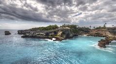 Nusa lembongan cliff