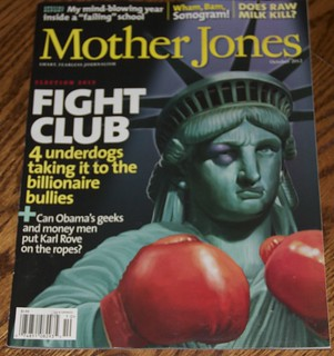 Harper Reed in Mother Jones: Cover