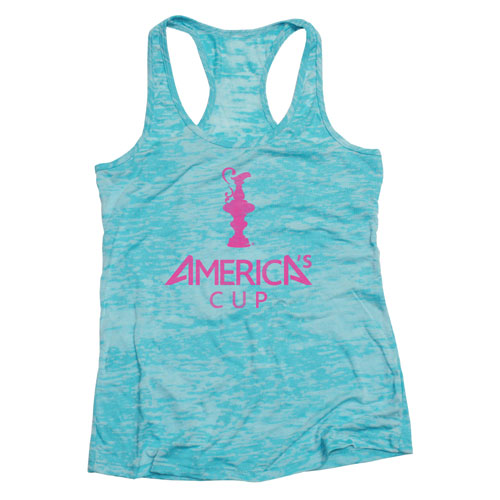 Americas Cup Tank Top Blue and Pink