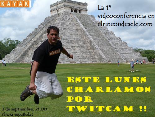 Convocatoria Twitcam para el 3 de septiembre