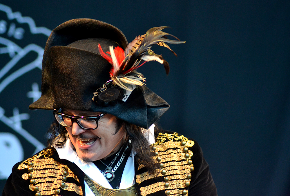 Adam Ant & The Good The Mad & The Lovely Posse @ Summer Sundae Weekender 2012