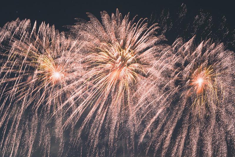 Battersea Park fireworks.