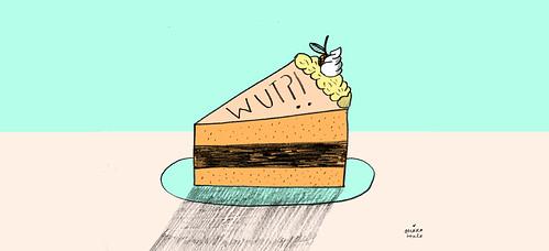 WUT CAKE by Ohara.Hale