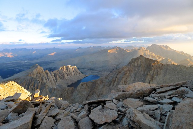 Northern View from Summit of Whitney
