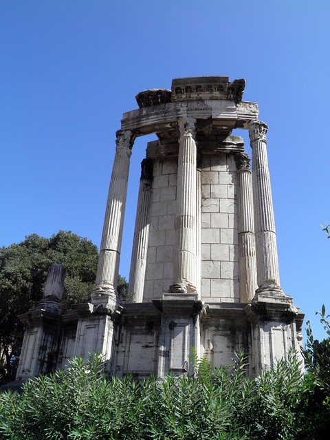 Temple of Vesta, Upper Via Sacra, Rome