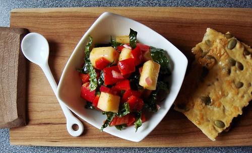 Sweet Pepper Kale Salad