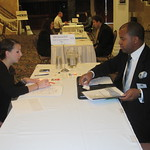MB Financial Bank recruiter Interviewing a candidate --