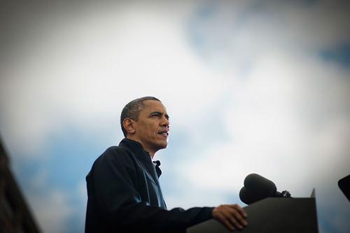 Obama en la campaña