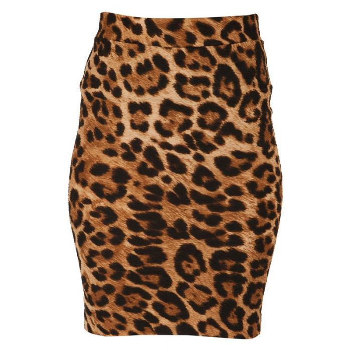 leopardprintskirt