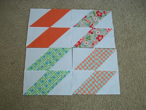 Four scrappy blocks for Sandy victims