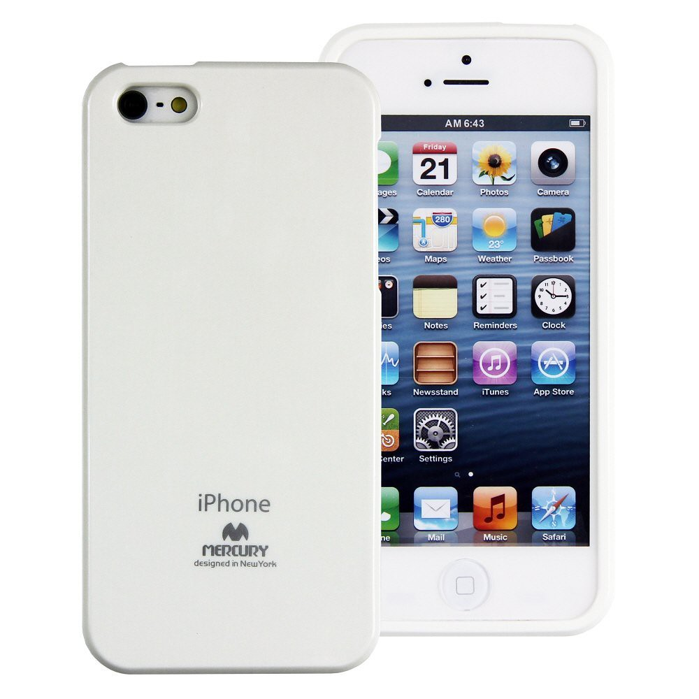 Jelly Case White For Apple Iphone 5 5s Made In Korea H1280 Ebay Goospery Pearl All Type Special  Red Extremely Slim And Form Fitting With Precise Cutouts Your Luxurious Finished Coatings Vibrant Colors