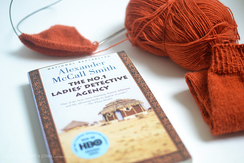Reading and knitting