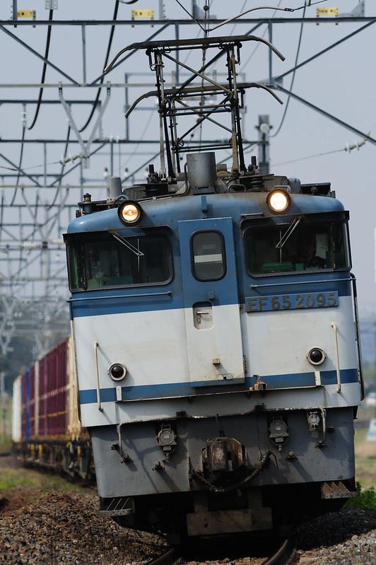1094レ EF65 2095 Freight Train