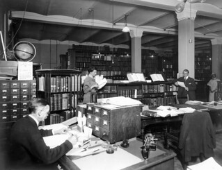 TBT USGS Library in Hooe Building, Washington, DC, 1917