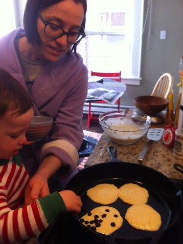 Making Pancakes with Mom