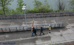 Jesus Experiment -- Cross Walk, Portland, OR 2014 4 19-42