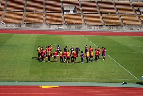 2014/04/24 京都サンガFC 西京極公開練習 #07