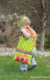 Toddler Tote Bag Tutorial Free Camera Applique Swoodson Says