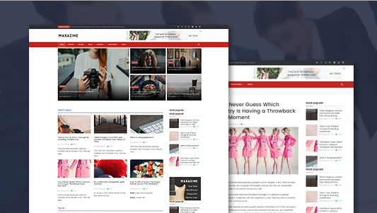 ZT Maxazine v1.0.0 - Responsive Joomla Magazine News Template