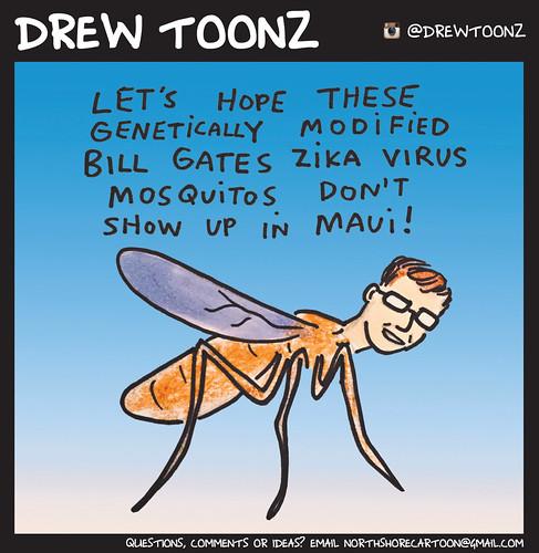 19.50 Drew Toonz Bill Gates Mosquito Zika Virus