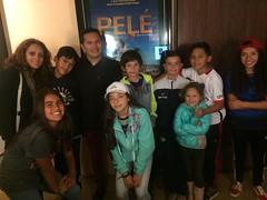 Chula Vista FC Soccer Team Attends PELE