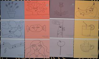 Paint Chip Doodles LR