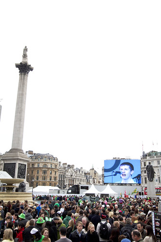 St. Patrick's festival @ Trafalgar Square