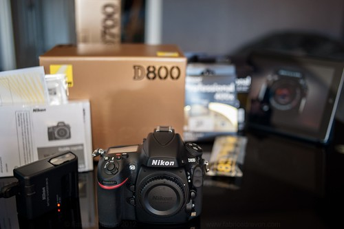 Welcome Home D800!