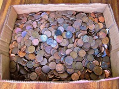 Box of pennies