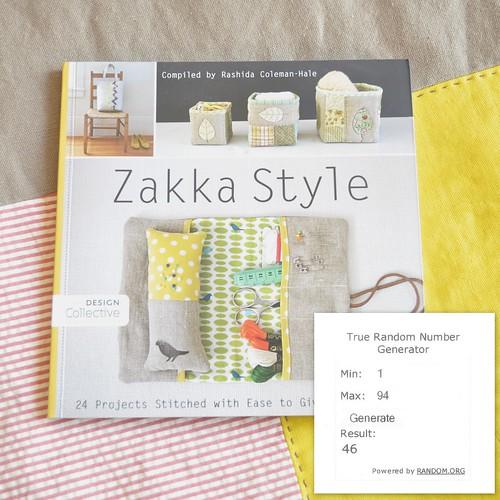 Zakka Style Giveaway