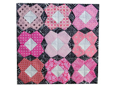 Cherry Blossom Mini Quilt